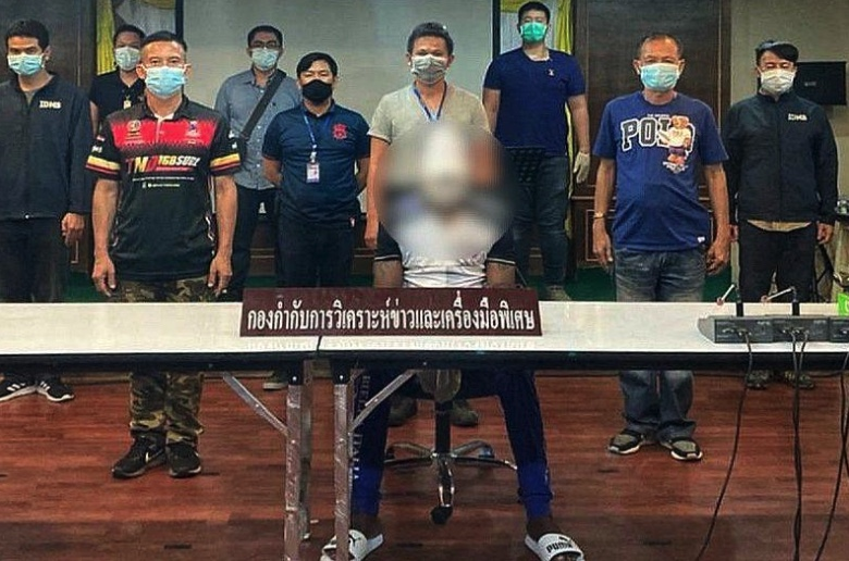 Nigerian and his Thai wife arrested - ringleaders in