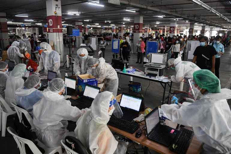 Thailand Reports New Daily Record Of 13,002 Coronavirus Cases